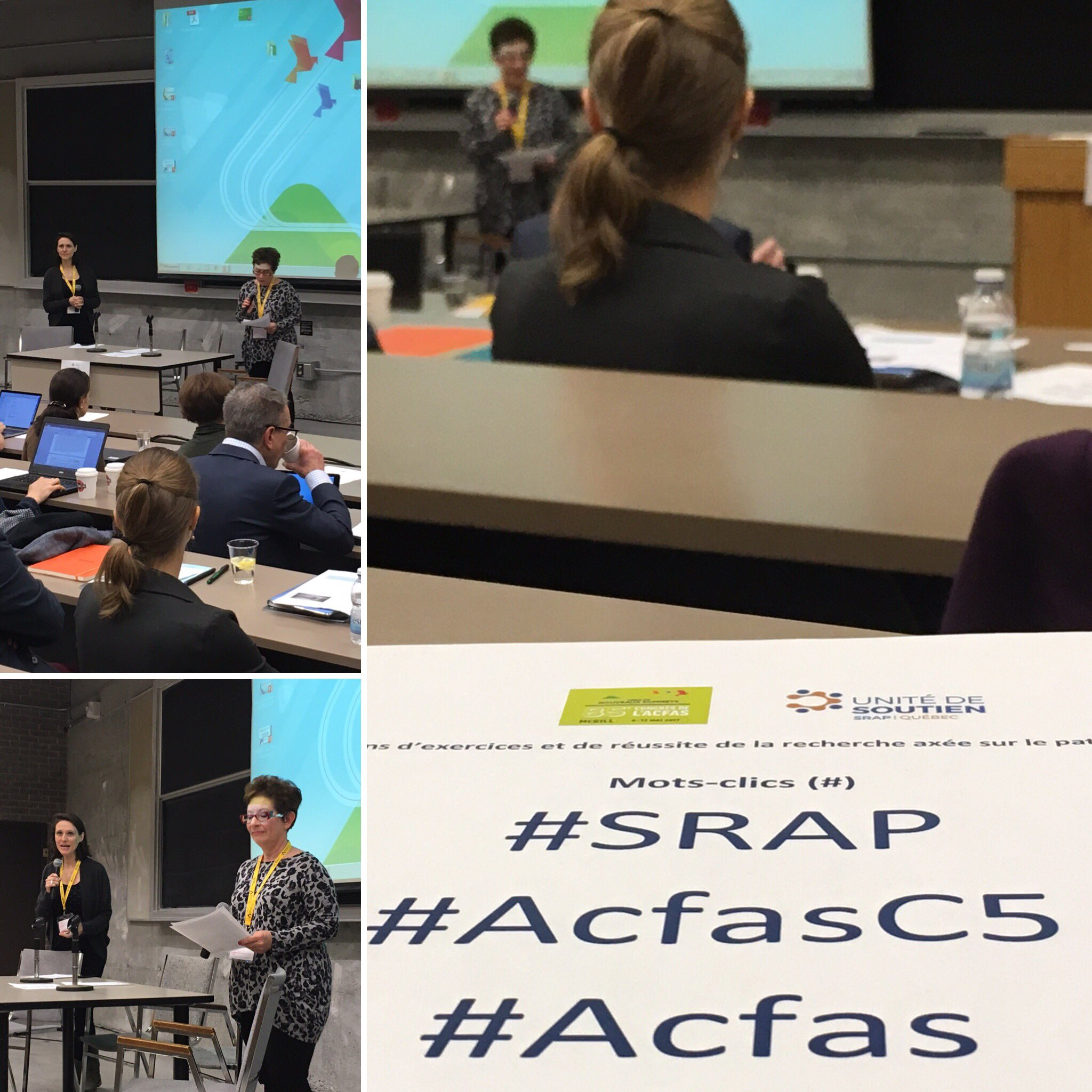 Colloque de l'Unité dans le cadre du 85e Congrès de l'ACFAS – 2017